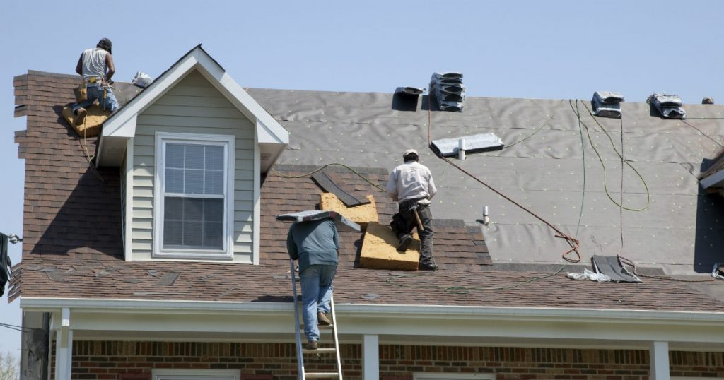 Roof replacement contractor Houston